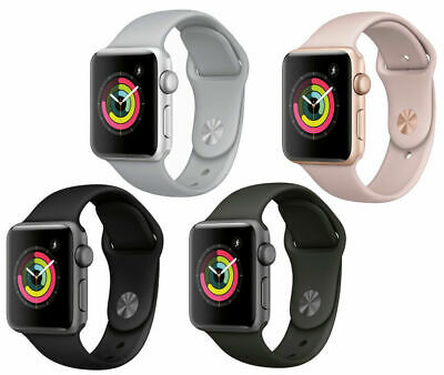 $ CDN432.90 • Buy Apple Watch Series 4 40mm 44mm GPS Only Silver Color With White Band