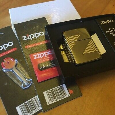 $107.75 • Buy Zippo 49194 Z2 Vision NEW LOGO 2020 COY Lighter With *FLINT & WICK GIFT SET*
