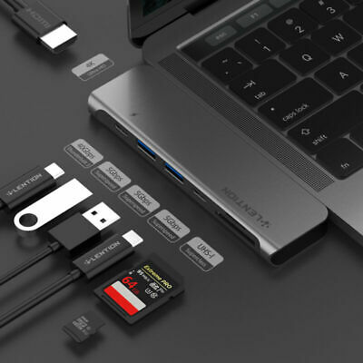 AU63.99 • Buy LENTION USB C HUB To HDMI USB 3.0 Adapter Card Reader PD For New MacBook Pro 16