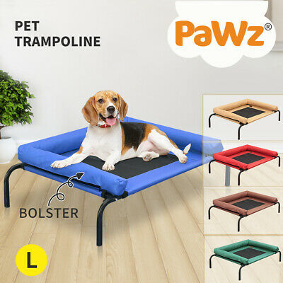 AU36.99 • Buy PaWz Elevated Pet Bed Trampoline Dog Puppy Cat Heavy Duty Hammock Mesh Canvas