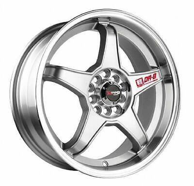 AU457.99 • Buy 17 DRAG DR8 5 LUG 5x100/5x114.3 WHEEL RIM SILVER 17x7