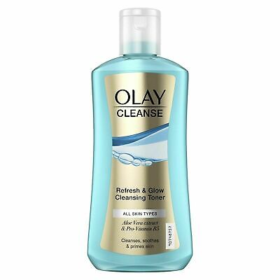 AU11.91 • Buy Olay Cleanse Refresh & Glow Cleansing Toner Cleanses Soothes & Primes Skin 200ml