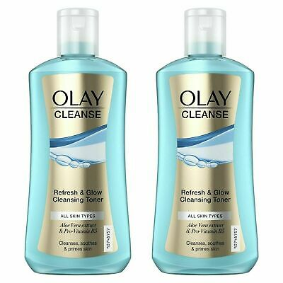 AU16.99 • Buy 2 X Olay Cleanse Refresh & Glow Cleansing Toner - Cleanses Soothes & Primes Skin