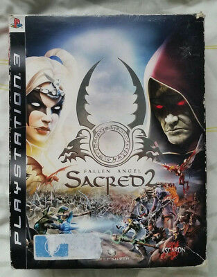 AU45 • Buy Sacred 2: Fallen Angel Collector's Edition Sony PS3 Complete W/ Figure