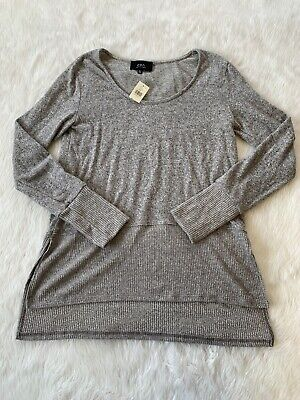 $ CDN32 • Buy NWT COA Of California Grey Long Sleeve Sweater Size XS Anthropologie