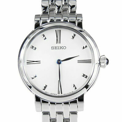 $ CDN119.99 • Buy Seiko Womens Black Dial Stainless Steel Quartz Watch - SFQ817P1 SFQ817