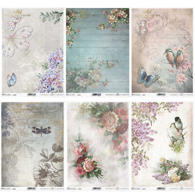 £2.99 • Buy ITD Collection D - Decoupage Rice Paper A4 Sheet - VARIOUS DESIGNS