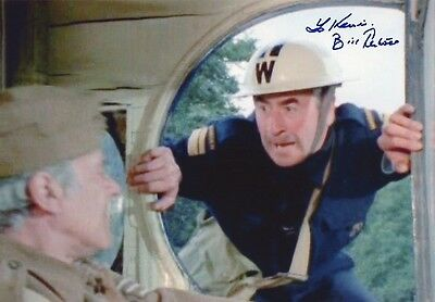 £69.99 • Buy BILL PERTWEE Signed 12x8 Photo DADS ARMY Warden Hodges COA