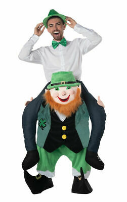 $49.78 • Buy St. Patrick's Day Leprechaun Costume Carrier Adult Mens Funny One Size Fits Most
