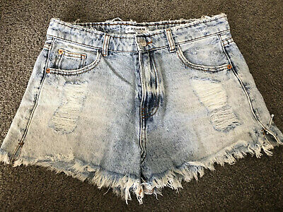 AU15 • Buy Pull And Bear Womens Shorts - Size Eur 38 (Au 8)
