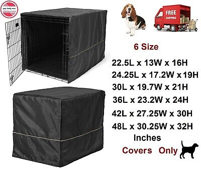 $22.95 • Buy Dog Crate Kennel Cover Extra Large Breed Pet Cage Huge Folding Machine Washable