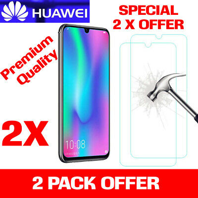 100% Huawei Psmart  P20 Pro P30 Lite Premium-tempered Glass Screen Protector • 3.99£