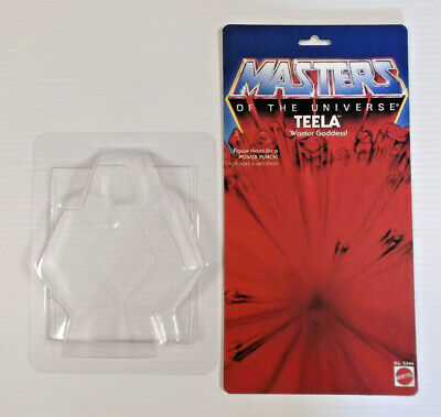 $29.93 • Buy Masters Of The Universe Custom 8 Back Teela Card Bubble Only