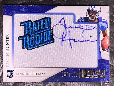 $12.99 • Buy 2013 Panini Prominence Rated Rookie RPA /102 #148 Justin Hunter Tennessee Titans