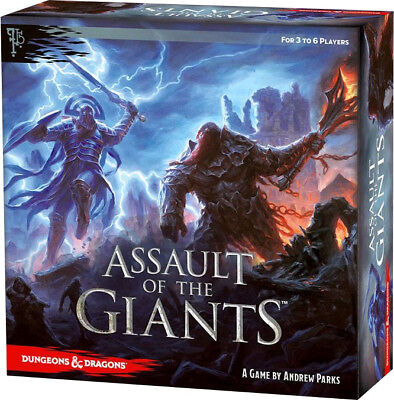 AU99.99 • Buy DUNGEONS & DRAGONS: Assault Of The Giants - Board Game ~ Standard (Wizkids) #NEW