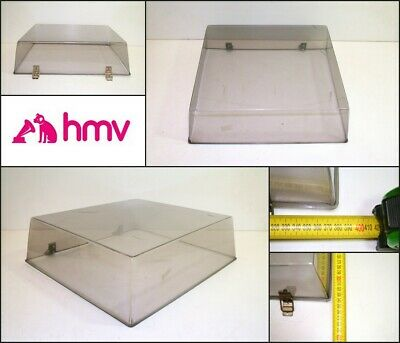 AU40 • Buy HMV Turntable Record Player Dust Lid Cover Case (380W X 340D X 110H Mm)
