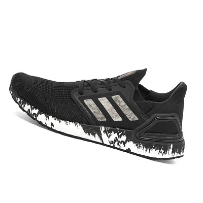 AU241.95 • Buy ADIDAS MENS Shoes Ultra Boost 20 - Black, White & Coral - OW-EG1342