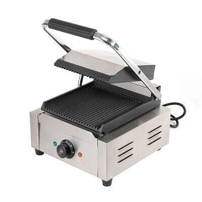 Sandwich/Panini Press Toastie Maker Commercial Stainless Steel Toastier Grill UK • 115.95£