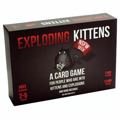 AU56.44 • Buy Exploding Kittens: NSFW Edition