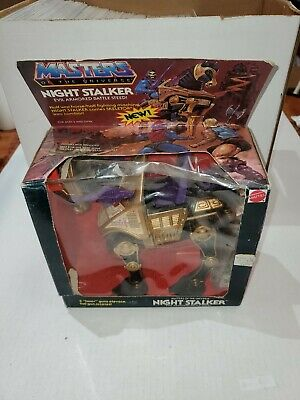 $99.95 • Buy 1984 Mattel Motu Night Stalker New But Damaged Box/plastic