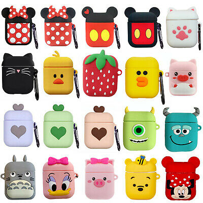 AU5.25 • Buy For Apple Airpods 1 2 Cute Cartoon 3D Silicone Airpod Protective Case Cover Skin