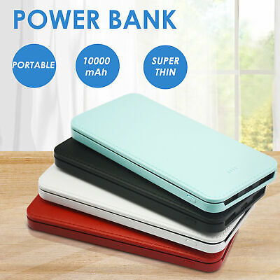 AU15.99 • Buy Portable 10000mAh External Power Bank Pack Dual USB Battery Charger For Phone
