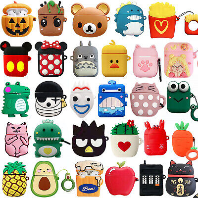 AU5.25 • Buy Airpods Case For Apple Airpods 2 1 Charging Case 3D Cartoon Protective Kid Cover