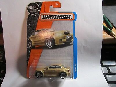 $2.59 • Buy  2016 Matchbox 2017 GOLD BMW 1M