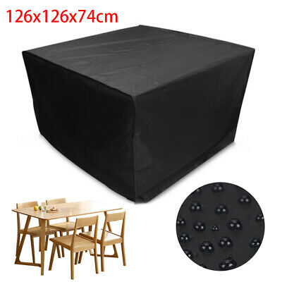 Waterproof Garden Patio Furniture Set Cover Covers For Outdoor Rattan Table Cube • 12.95£