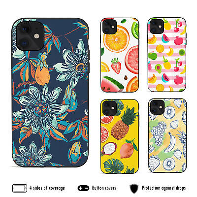 AU12.99 • Buy IPhone 11 Pro Max XS XR X 8 7 6s 6 Plus Shockproof Case Cover Cute Exotic Fruit