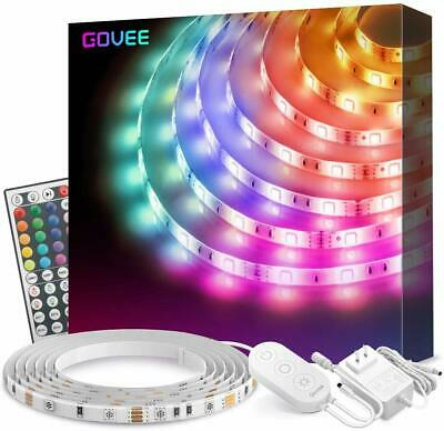 $41.86 • Buy Led Strip Lights 16.4Ft Waterproof RGB Light Kits With Remote For Room, Bedroom