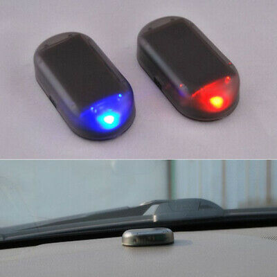 $ CDN4.63 • Buy Fake Solar Auto Car Alarm Light Led Warn Security System Theft Flash Accessories