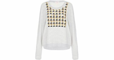 AU149 • Buy SASS & BIDE The New World Sequin Jumper BNWT RRP $290 Free Post Size 44 14