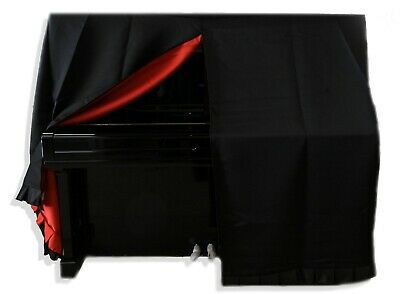 AU320 • Buy  Black Upright/Grand Piano Cover, Fits Yamaha And Other, Japan Import, Red Inlay