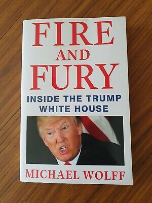 AU16 • Buy Fire And Fury Inside The Trump White House - Trade Size Paperback **Brand New**