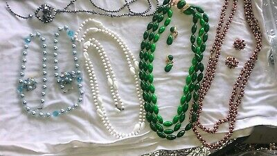 $ CDN33.96 • Buy Vintage Beaded Necklace Jewelry Lots