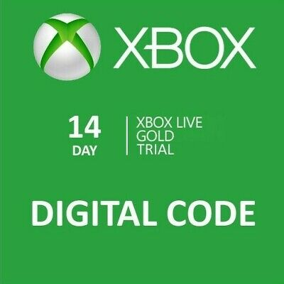 $4.25 • Buy Xbox Live Gold Trial Membership 14 Days Xbox One Only(1 X 14 Days)-Global