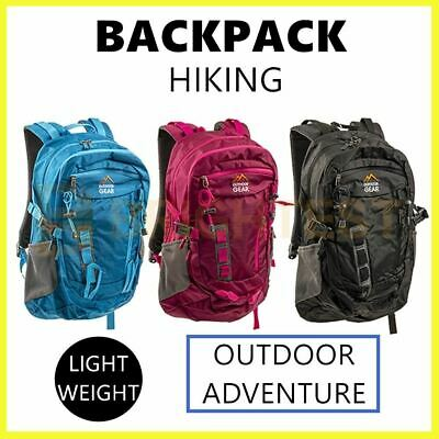 AU33.25 • Buy Outdoor Sports Backpack Bag Hiking Travel Camping Luggage Lightweight Rucksack
