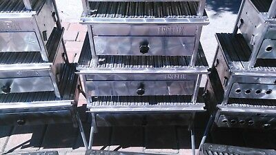 $ CDN172.63 • Buy Turkish Stainless Chrome Grill BBQ Grooved Grid Charcoal Barbecue Picnic Kebap