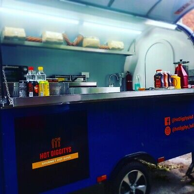 £11500 • Buy Catering Trailer Burger Van Grill BBQ,Hot Dogs, Fryer - Ready To Go Business