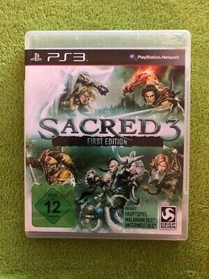 AU24.74 • Buy PS3 - Sacred 3 (First Edition)