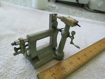 $ CDN492.68 • Buy Vintage Watchmakers Swing/ Jeweling Tailstock For Lathe - American Watch Tool Co