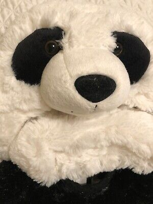 Pottery Barn Kids BABY PANDA Costume Toddler 12-24 Months Super Soft Hooded • 29.19£