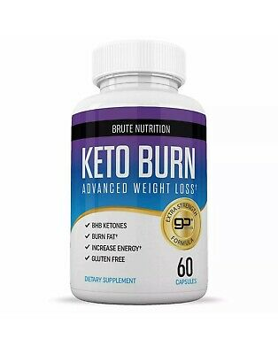 $9.99 • Buy Brute Nutrition - Keto Burn - Advanced Weight Loss, 60 Caps, Exp 05/2021