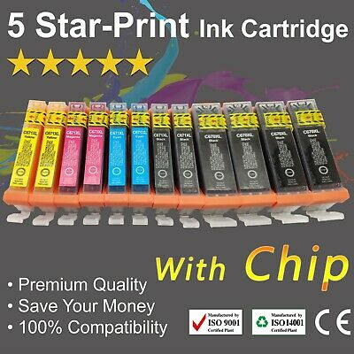 AU18.99 • Buy 12 Ink Cartridges PGI-670XL CLI671XL For Canon PIXMA TS5060 TS6060 TS8060 TS9060