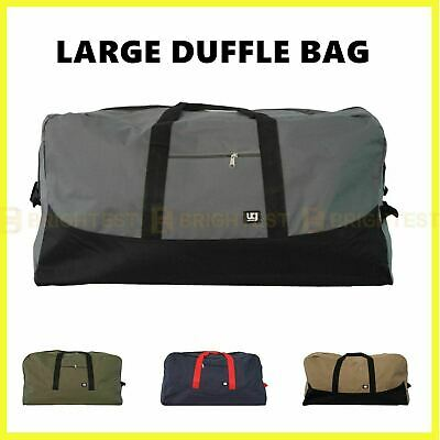 AU26.95 • Buy Urban Gear Large Duffle Bag Canvas Duffel Gym Overnight Travel Carry Luggage