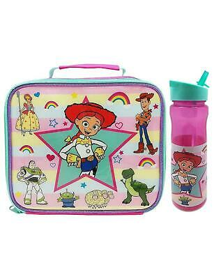 Disney Toy Story Jessie Character Lunch Bag And Water Bottle Bundle Set • 14.99£