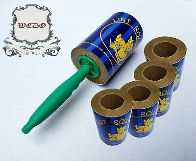 20M Jumbo Sticky Lint Roller And Refill For Dust Fluff Pet Hair Removal(wedo)uk  • 17.99£