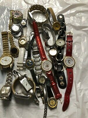$ CDN17.80 • Buy Lot Of 22 Vintage Watches For Collectors No Guarantee If They Work