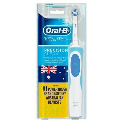 AU33.15 • Buy Oral-B Vitality Precision Clean Electric Toothbrush ( 2 Power Brush Heads )